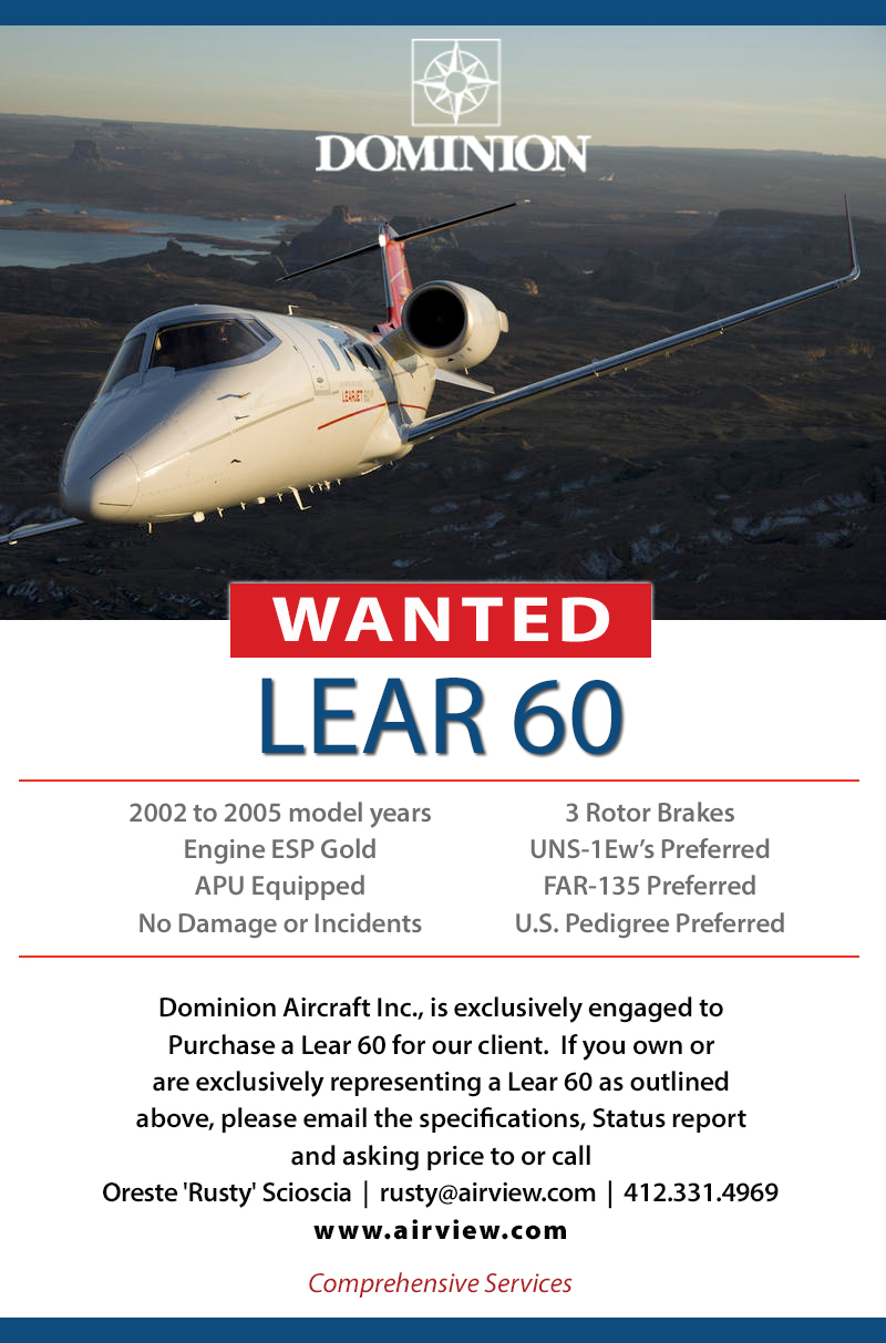 Dominion Lear 60