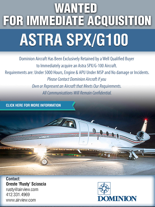 ASTRA SPX/G100 Wanted